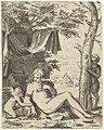 Venus, Amor en sater, RP-P-1961-792.jpg