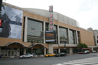 Capital One Arena - Exterior of the arena in 2008