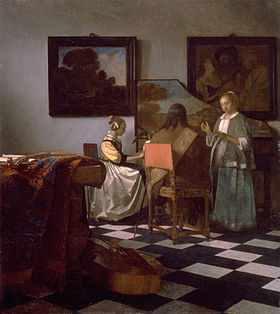 Image illustrative de l'article Le Concert (Vermeer)