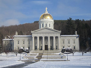 Vermont General Assembly - Image: Vermont State House