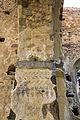Vestiges de peintures au sud de l'arc diaphragme de l'ancienne église Saint-André, Saint-André-des-Eaux, France.jpg