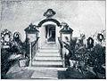 Vhod v grobišče zadnjih Bourbonov na Kostanjevici 1909.jpg
