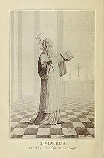 Viator of Lyons French saint
