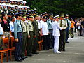 Vice Minister of National Defence Admiral Kao Give Bonus to ROCMP Headquarters Staff after Practice Successful Completed 20120908.jpg