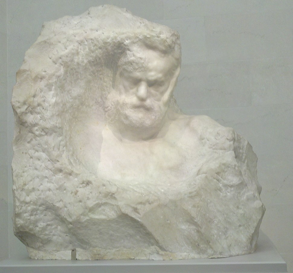 Victor Hugo bust