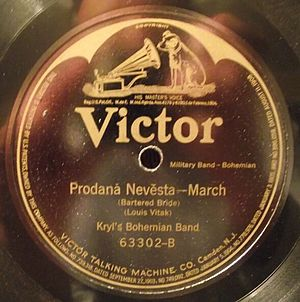 Bohumir Kryl - Kryl's Bohemian Band on Victor 63302 side B