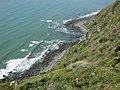 View from Raroa Reserve lookout down at coast.jpg