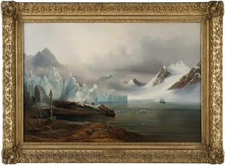 View from Spitzbergen