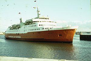 Viking I Thoresen Car Ferries June 1967.jpg