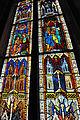 Viktring Stiftskirche Glasmalereien linkes Fenster Ausschnitt 07052011 230.jpg