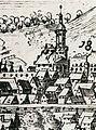 Vilenskaja ratuša. Віленская ратуша (1600).jpg