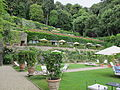 Villa san michele, giardino est 02.JPG