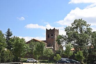 La Bastide, Pyrénées-Orientales - The church in La Bastide