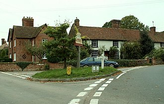 Foxearth - Image: Village sign at Foxearth, Essex geograph.org.uk 271105