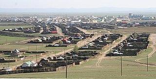 Town in Övörkhangai, Mongolia