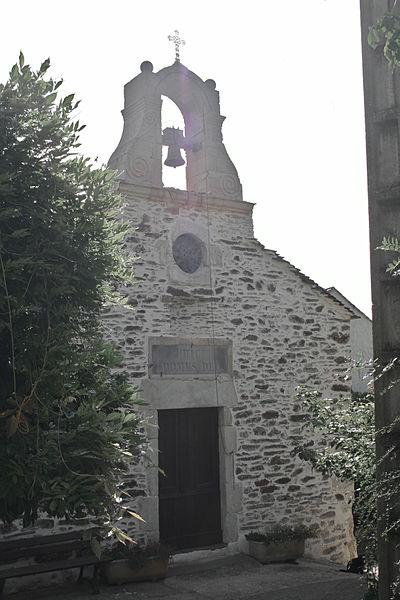 Lamalou-les-Bains - Hérault - église Notre-Dame de l'Assomption de Villecelle - façade occidentale.