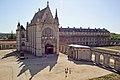 Vincennes. Vue sur la Sainte-Chapelle depuis la terrasse du châtelet.2009.jpg