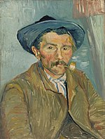 Vincent van Gogh - The Smoker (Le Fumeur) - BF119 - Barnes Foundation.jpg