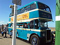 Vintage bus at Hoylake - DSC09150.JPG