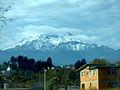 Vista del Iztaccíhuatl desde la autopista México-Puebla. 07.JPG