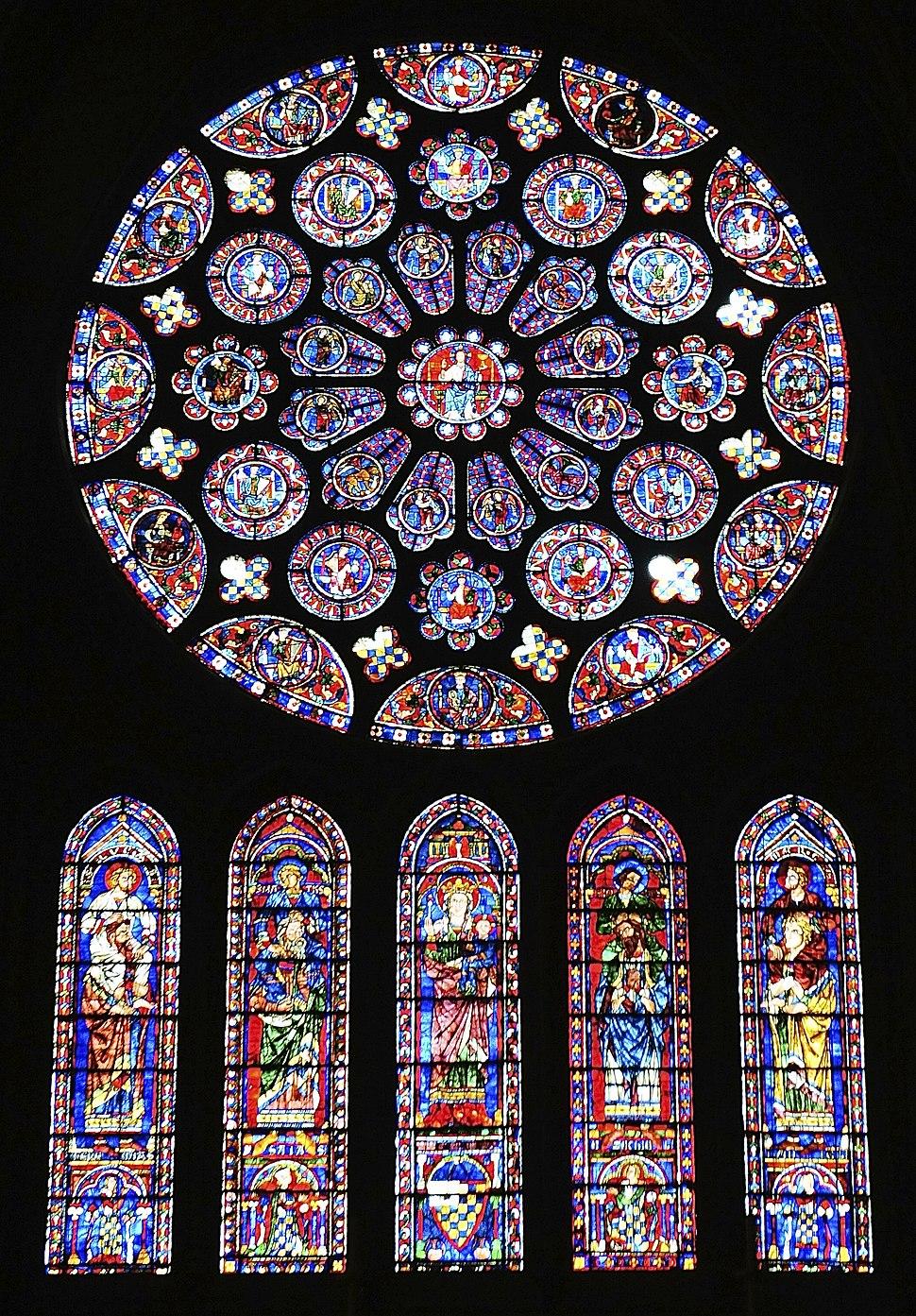 Vitrail Transept Sud Chartres