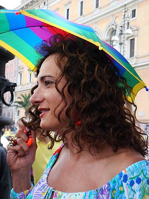 Vladimir Luxuria - Luxuria at Roma Gay Pride 2008