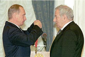 Pyotr Todorovsky - Image: Vladimir Putin 21 December 2000 6