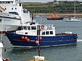 Voyager of St Martin's in Hugh Town harbour.JPG