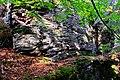 Vrch Rudná (852 m) fylitové skalky (5).jpg