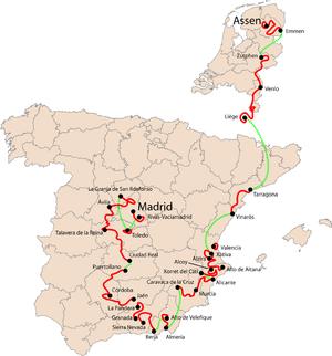 2009 Vuelta a España - Image: Vuelta a Espana 2009
