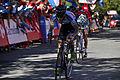 Vuelta a España 2013-L. Konning y F. Nibali(maillot rojo).jpg