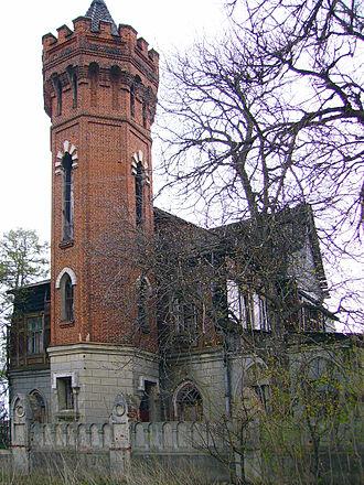 Vyazniki, Vladimir Oblast - Tower of Senkov Mansion