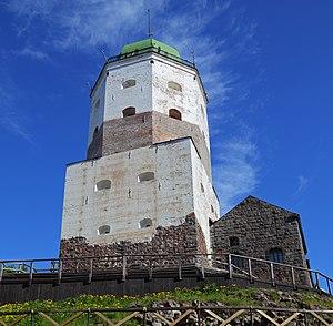 Tower of St. Olav - Image: Vyborg 06 2012 Castle 03