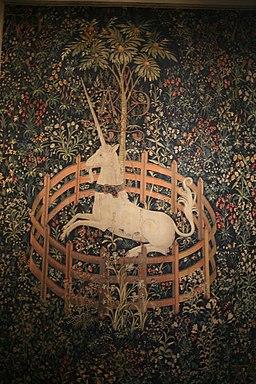 WLA metmuseum 1495 Unicorn captivity