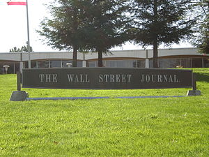 The Wall Street Journal at 1701 Page Mill Road...