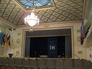 International House of New York - Auditorium inside I-House