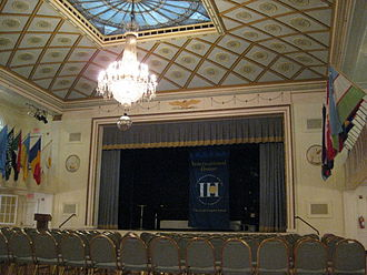 International House of New York - Auditorium inside I-House