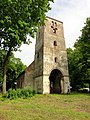 WWII still not ended here. Mezotne ev.luth. church, AD 1567-1711-1817-1930... - panoramio.jpg