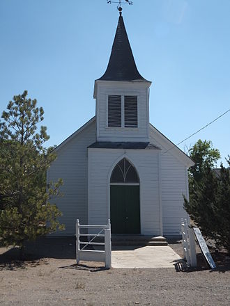 Wadsworth, Nevada - Wadsworth Union Church is listed on the National Register of Historic Places.