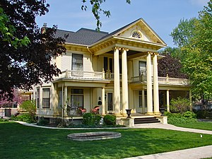 Robert Wagner House - Image: Wagner House RI IL