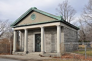 National Register of Historic Places listings in Wakefield, Massachusetts - Image: Wakefield MA Beacon Street Tomb