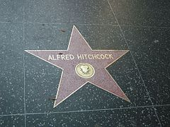 Walk of fame, alfred hitchcock.JPG