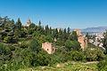 Walls Towers Alhambra Granada Spain.jpg