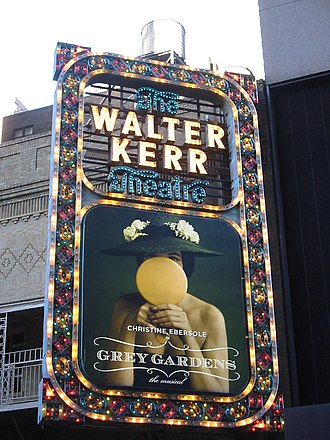Walter Kerr Theatre - The marquee of the Walter Kerr Theatre in 2006