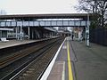 Wandsworth Common stn southbound slow platform look north.JPG