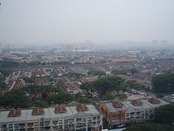 Aerial view of Wangsa Maju