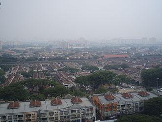 Wangsa Maju - Aerial view of Wangsa Maju