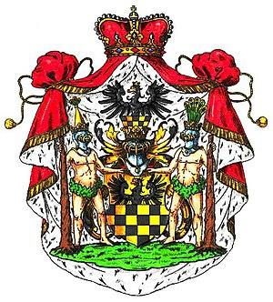 House of Putbus - Arms of the Princes of Putbus
