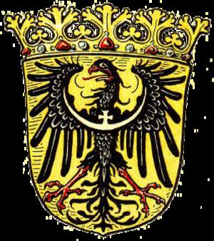 Province of Lower Silesia - Image: Wappen Provinz Niederschlesien