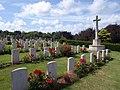 War graves, Torquay cemetery - geograph.org.uk - 1402386.jpg